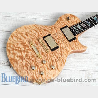 Carvin Custom Shop CS6M 4A Quilt Top Natural