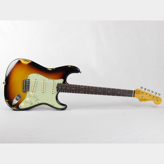 Fender Custom Shop 1962 Stratocaster Relic Faded 3-Tone Sunburst