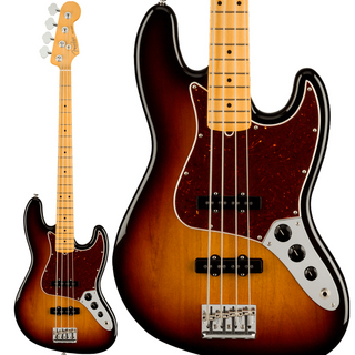Fender American Professional II Jazz Bass (3-Color Sunburst/Maple)【入荷待ち、ご予約受付中!】