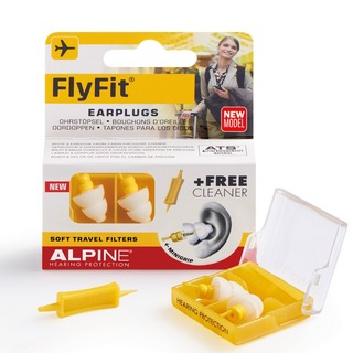 ALPINE HEARING PROTECTION FlyFit MINI GRIP 航空機内用イヤープラグ