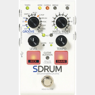 DigiTech SDRUM [Strummable Drums] 【数量限定新品特価】