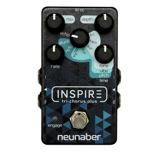 Neunaber Audio EffectsInspire Tri-Chorus Plus コーラス ギターエフェクター