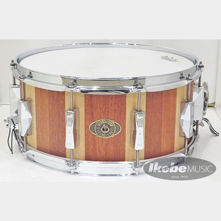 Beyond Shimano BSMM146-13P [Solid Stave Snare Drum / 13mm Maple + Mahogany with 2.3mm Power Hoops]【中古品】