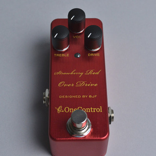 ONE CONTROL strawberry red overdrive【熊本パルコ店】