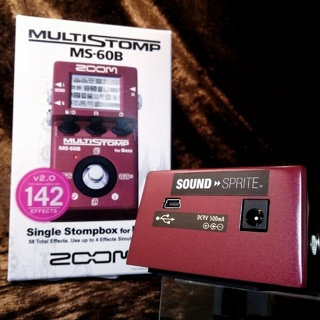 SOUND SPRITE ZOOM MS-60B Mod