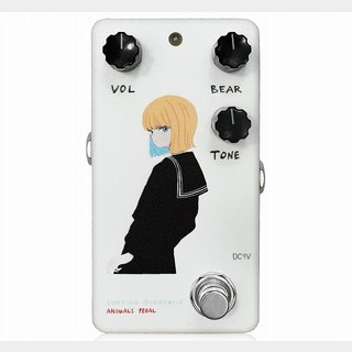 "Animals Pedal Custom Illustrated 002 Surfing Bear Overdrive ""黒セーラー"" White"