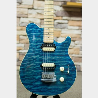 Sterling by MUSIC MAN S.U.B AX3 Trans Blue