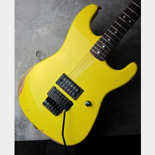 Charvel USA Custom Shop San Dimas 1H / Yellow Gold Pearl Relic