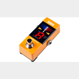 KORG Pitchblack mini Pedal Tuner PB-MINI Orange (OR)【福岡パルコ店】