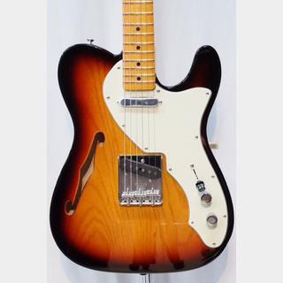 Fender American Original 60s Telecaster Thinline Maple Fingerboard / 3-Color Sunburst