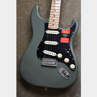Fender American Professional Stratocaster ~Antique Olive / Maple Fingerboard~ #US16089395 【3.55kg】