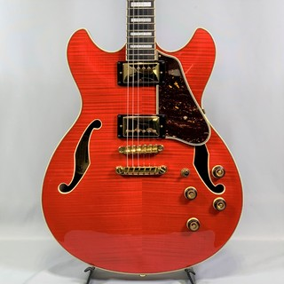 Ibanez AS93FM Transparent Cherry Red
