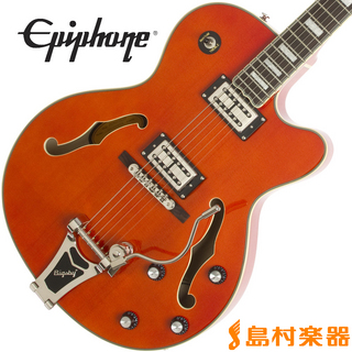 Epiphone Emperor Swingster OR(オレンジ) フルアコ エレキギター