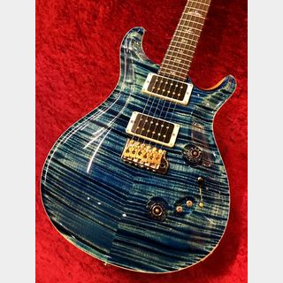 Paul Reed Smith(PRS) Wood Library Custom 24-08 'Indian Rosewood Neck&Cocobolo Fretboard' -River Blue- 【完全限定生産】