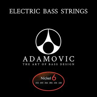 AdamovicAdamovic Bass string set 6st [Nickel]