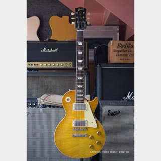 "Gibson Custom Shop True Historic 1959 Les Paul Standard Reissue HRM ""Hard Rock Maple"" Murphy Aged Bella Donna Burst"