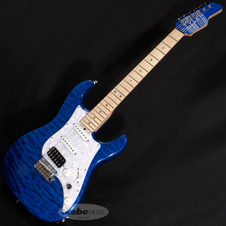 James Tyler Japan STUDIO ELITE HD Ash/Maple Transparent Blue/MH