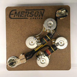 Emerson Custom SG PREWIRED KIT (500K Pots, 0.022uf & 0.015uf Bumblebee Capacitors) 【エマーソン】【在庫あり】