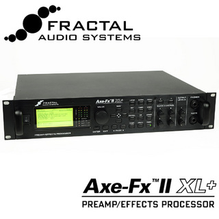 FRACTAL AUDIO SYSTEMS ≪ローン48回払いまで金利無料!≫Axe-Fx II XL+  【メーカーロゴ入りTシャツプレゼント!】【新宿店】