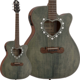 Zemaitis CAF-80HCW [Orchestra Model Cutaway] (Forest Green)