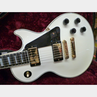 Gibson Custom Shop Les Paul Custom Alpen White