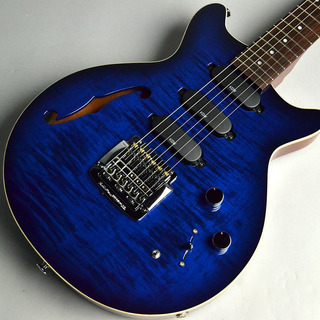 Kz Guitar Works  Kz One Standard 3S23 Kahler Figured Maple Sapphire Blue Burst
