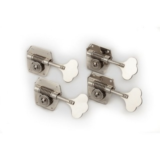 Fender Pure Vintage Bass Tuning Machines Nickel-Plated Steel 4 ベース用ペグ