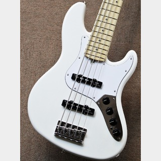 Fender Made in Japan Limited Deluxe Jazz Bass V -Arctic White-【5連ペグ】