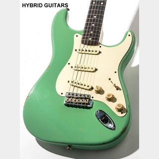 Fender Custom Shop MBS 1959 Stratocaster Heavy Relic Surf Green Dark Rosewood Master Built by Jason Smith 2009