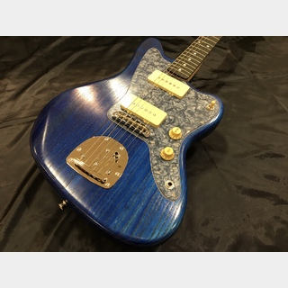 Bacchus 【アウトレット】BJM-80B BLU/OIL BlackPearl Pickguard