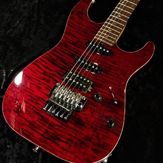 T's Guitars DST-22 Exotic Drop Top/GE1996T -Trans Red- 【2012 USED】