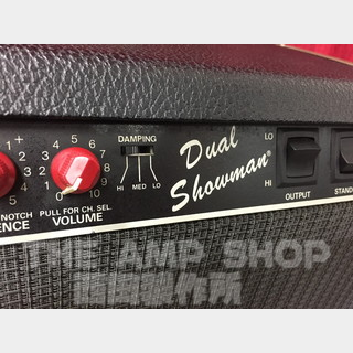 Fender Dual Showman (Red Knob)