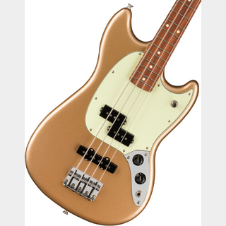 Fender Player Mustang Bass PJ Pau Ferro Fingerboard Firemist Gold 【御茶ノ水本店】