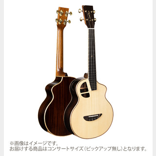 L.Luthier Le Light Rose コンサートウクレレ