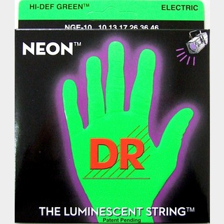 DRNEON GREEN DR-NGE10 Medium エレキギター弦