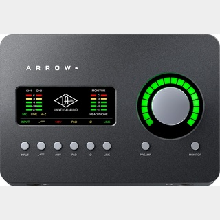 Universal Audio Arrow 【Thunderbolt 3オーディオインターフェース】