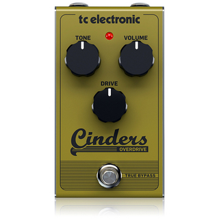 tc electronic CINDERS OVERDRIVE ※国内正規品 【7月中入荷予定・予約受付中】