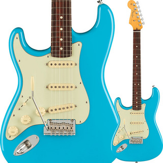 Fender USA American Professional II Stratocaster Left-Hand (Miami Blue/Rosewood)