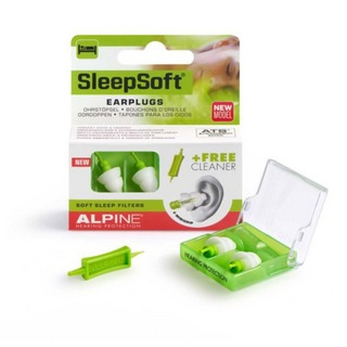 ALPINE HEARING PROTECTION Sleep Soft with Mini Grip 耳栓