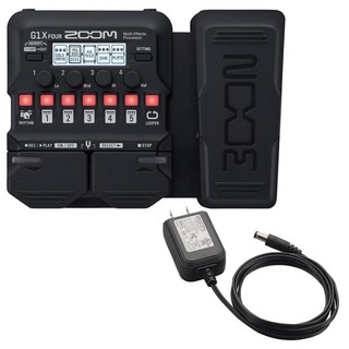 ZOOM G1X FOUR + AD-16A/D SET