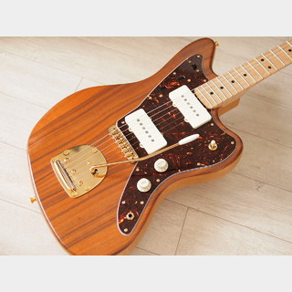 WARMOTH Custom Jazzmaster - Koa Top - Vitntage Natural
