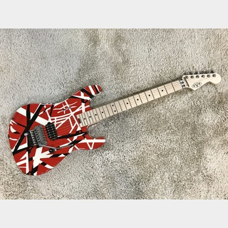 EVH Striped Series Red with Black Stripes 【中古品】【美品】