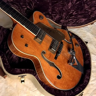 "Gretsch USA Custom Shop G6120TCS Chet Atkins 1959  ""Tiger Flame"" Relic (Built by Stephen Stern)"