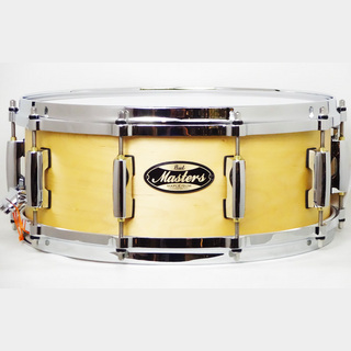 "PearlMasters Maple Gum 14""×5.5"" Hand Rubbed Natural Maple MMG1455S/C #186"