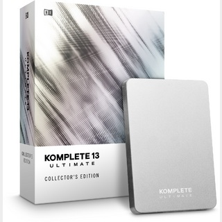 NATIVE INSTRUMENTS KOMPLETE 13 ULTIMATE Collector's Edition UPG FOR K8-13【2020年10⽉2⽇(⾦)発売!!予約受付中】