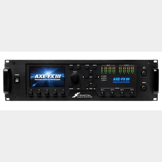 FRACTAL AUDIO SYSTEMS Axe-Fx III 【入荷しました!!!】