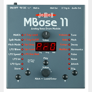 Jomox MBase11 Analog Bass Drum Module 【WEBSHOP】