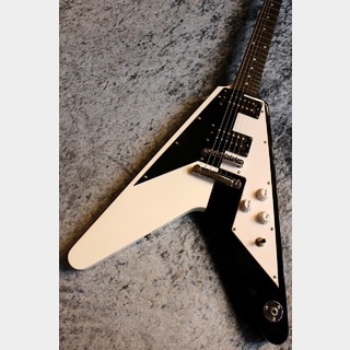 DEAN MS Retro Black White 【Michael Schenker Signatur Model】