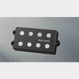 Delano Pickup MC-AL pickup series MM style 4 string pickups AlNiCo 5 magnets MC 4 AL dual coil humbucker