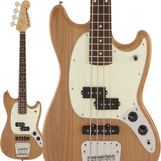 Fender Made in Japan Made in Japan Hybrid Mustang Bass (Natural)